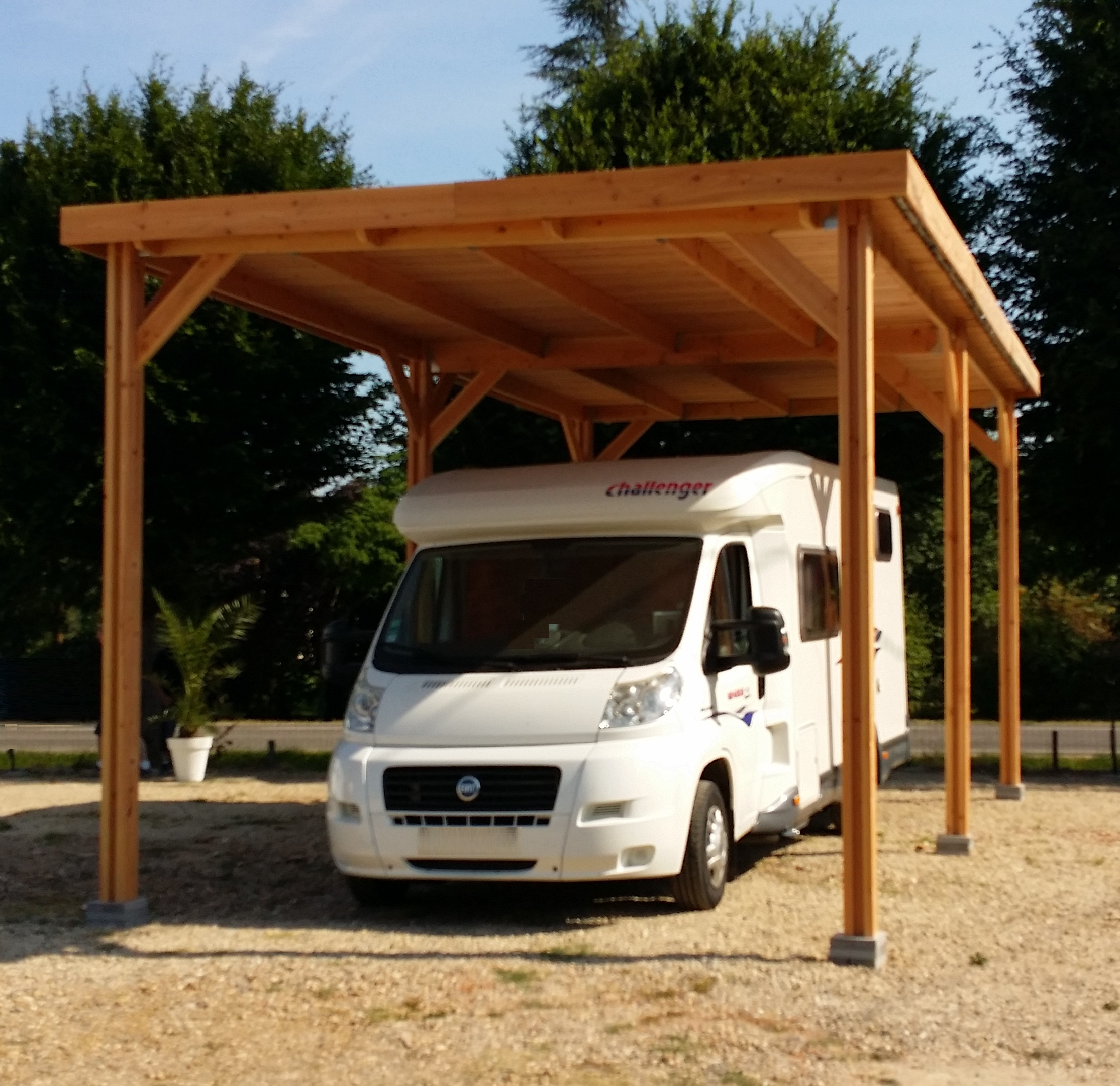 abri camping car tp carport bois nea concept. Black Bedroom Furniture Sets. Home Design Ideas