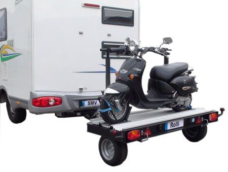 remorque porte scooter camping car. Black Bedroom Furniture Sets. Home Design Ideas