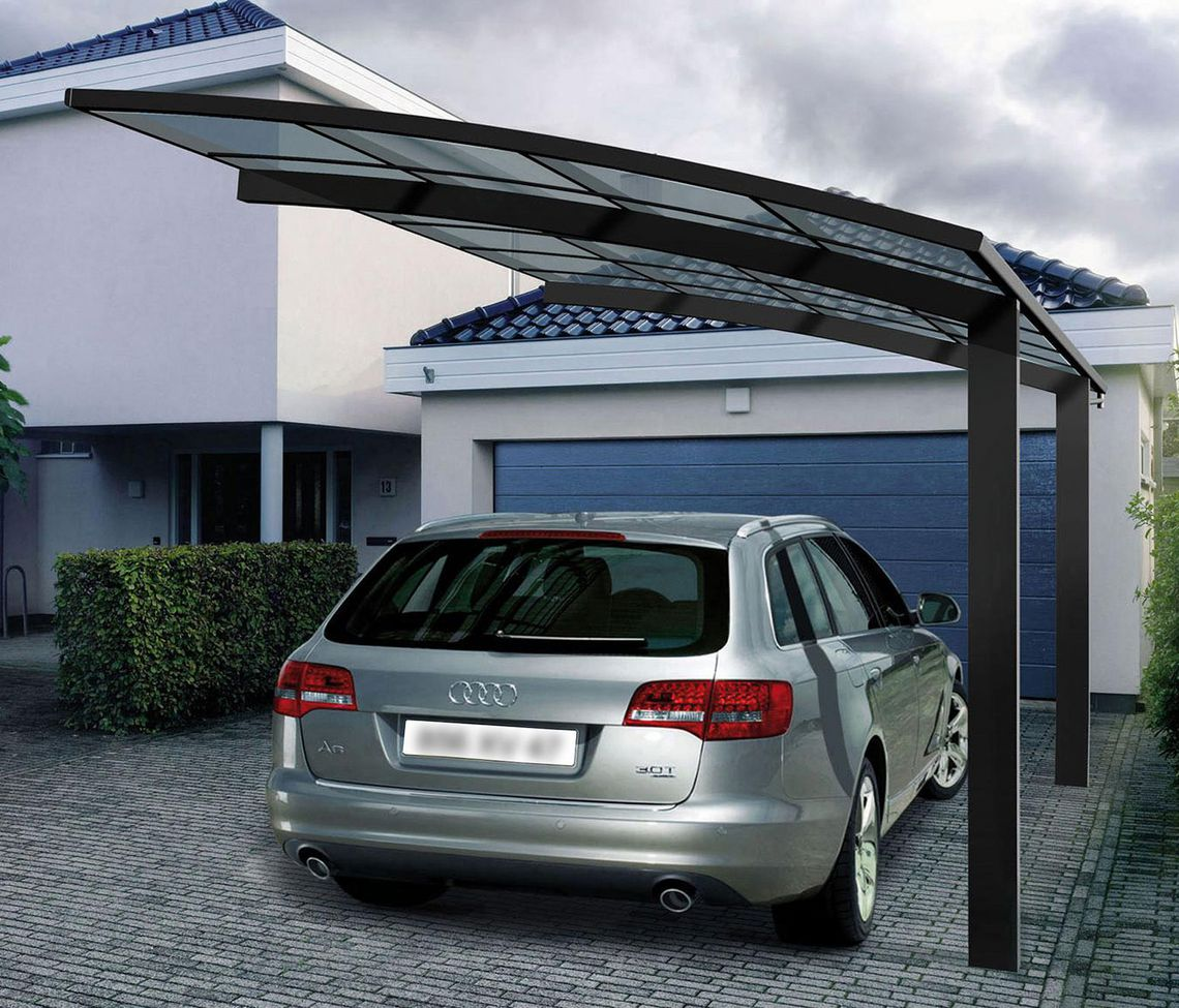 carport a pieds deportes 4935 carport alu nea concept. Black Bedroom Furniture Sets. Home Design Ideas