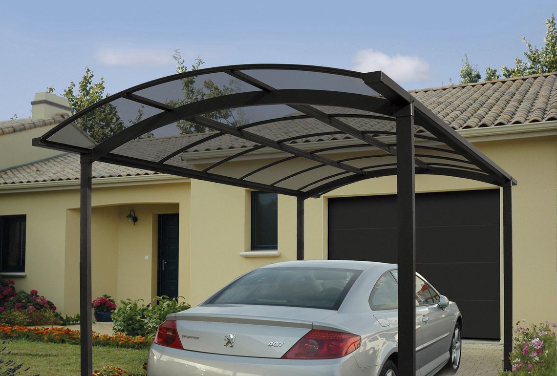 carport aluminium pluriel 6345 carport alu nea concept. Black Bedroom Furniture Sets. Home Design Ideas